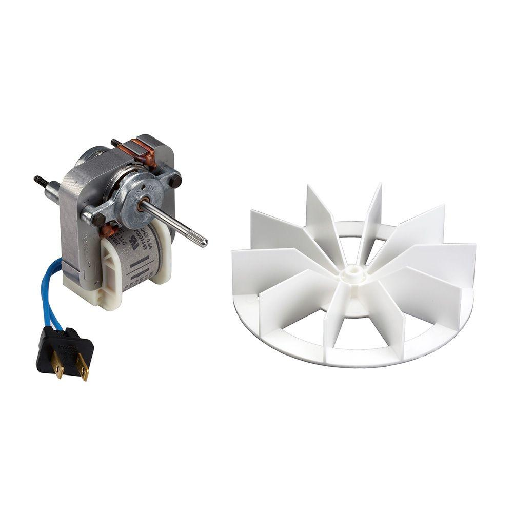 hight resolution of broan replacement motor and impeller for 659 and 679 bathroom exhaust fans