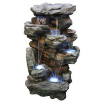Alpine 51 in. Rainforest Waterfall Fountain-WIN730 - The ...