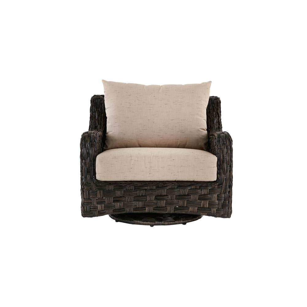 Cushions For Glider Chairs Home Decorators Collection Sunset Point Outdoor Swivel Glider Lounge Chair With Sand Cushions