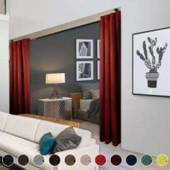 Red Curtains For Living Room Light Coloured Ideas Drapes Window Treatments The Home Depot Heavy