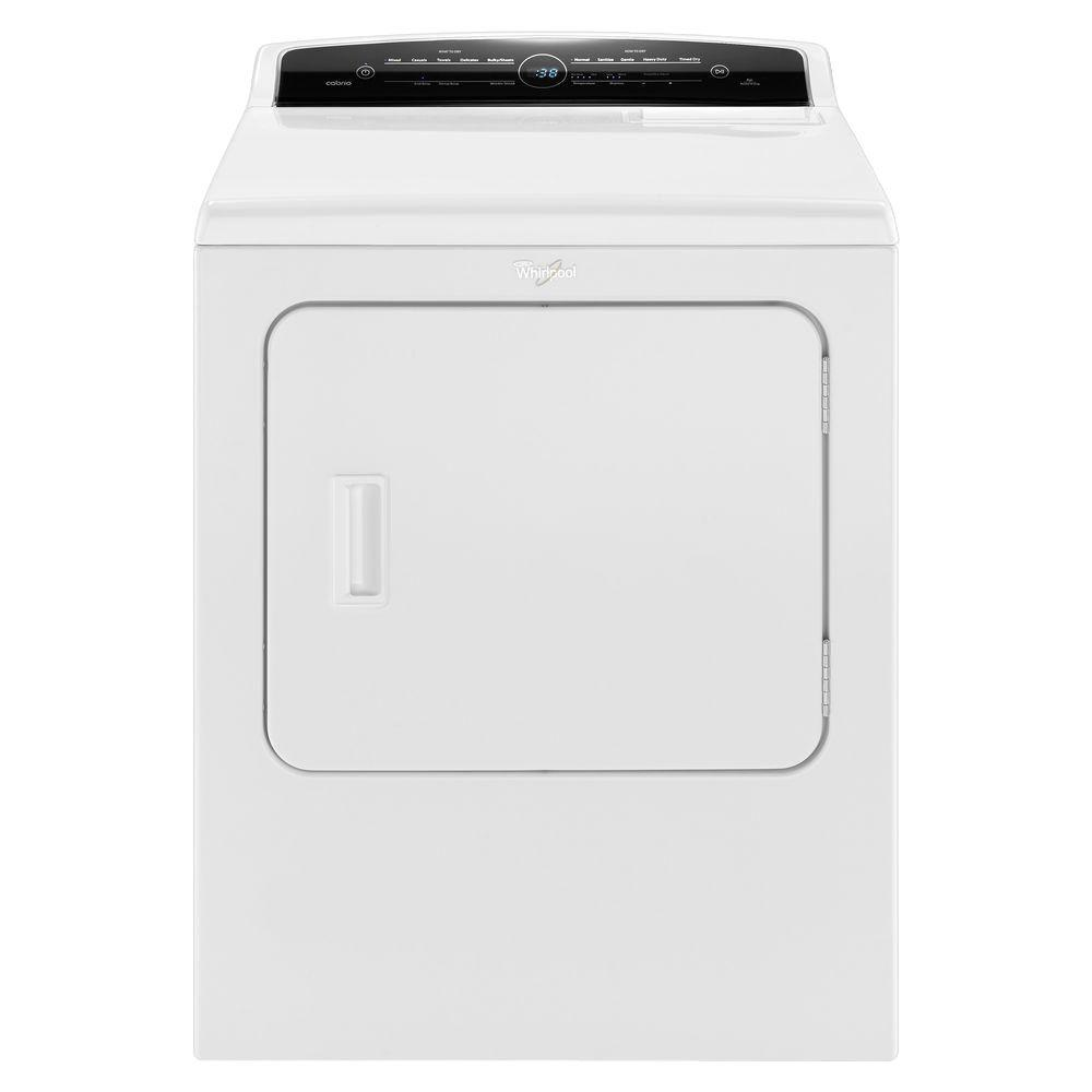 medium resolution of whirlpool 7 0 cu ft 240 volt high efficiency white electric vented dryer