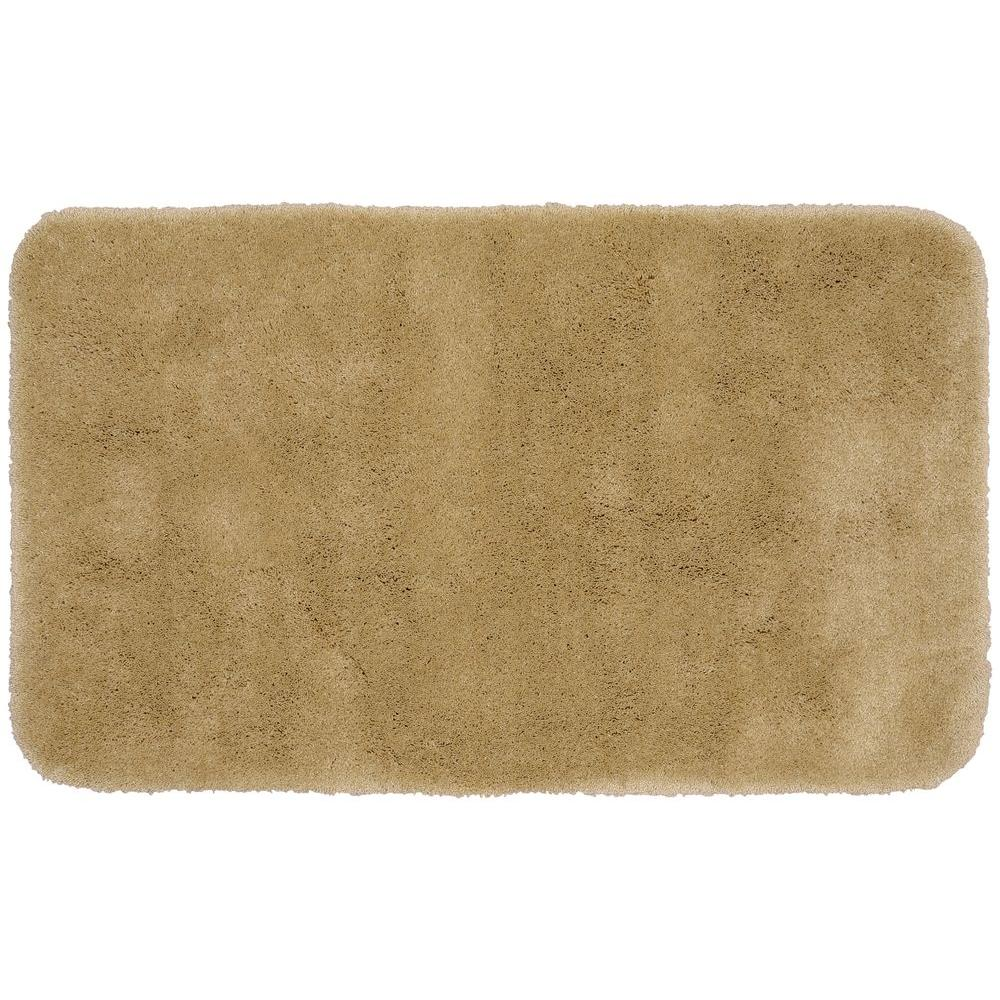 Garland Rug Finest Luxury Taupe 30 In X 50 In Washable