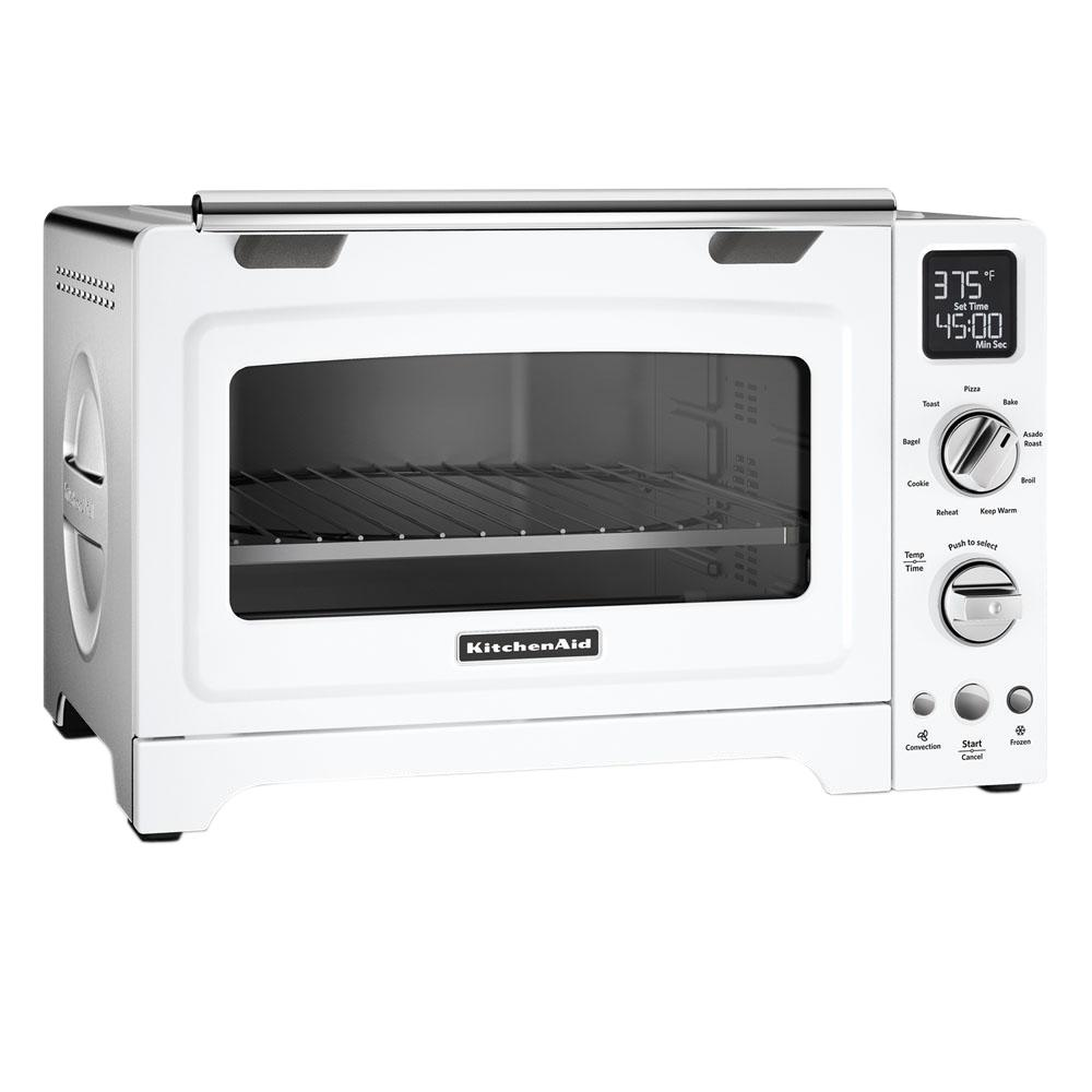 white kitchen aid cabinet lighting ideas kitchenaid convection toaster oven kco275wh the home depot