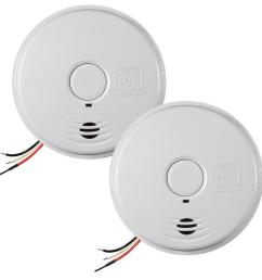 120 volt hardwired worry free smoke alarm with 10 year battery backup 2 [ 1000 x 1000 Pixel ]