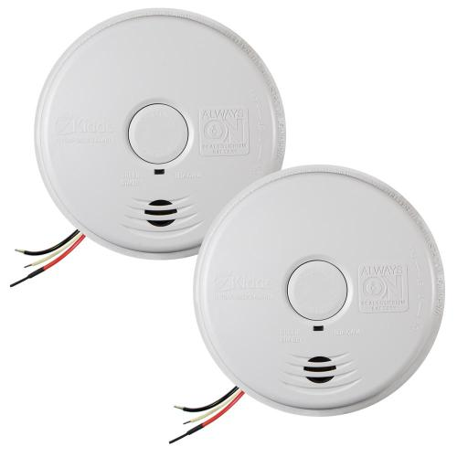 small resolution of 120 volt hardwired worry free smoke alarm with 10 year battery backup 2
