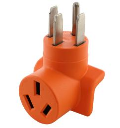 ac works 50 amp welder adapter nema 14 50p rv range generator male [ 1000 x 1000 Pixel ]