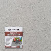 Rust-Oleum 1 -gal. Slate Decorative Concrete Exterior ...