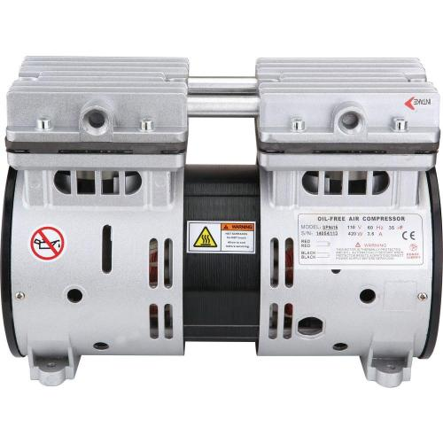 small resolution of 1 2 hp ultra quiet and oil free air compressor motor