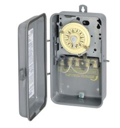 intermatic t104r 40 amp 208 277 volt dpst 24 hour mechanical time switch with outdoor enclosure t104rd89 the home depot [ 1000 x 1000 Pixel ]