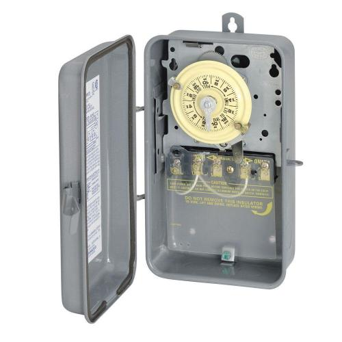 small resolution of intermatic t104r 40 amp 208 277 volt dpst 24 hour mechanical time switch with outdoor enclosure t104rd89 the home depot