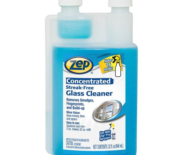 Streak Free Glass Cleaner Concentrate 4 Case