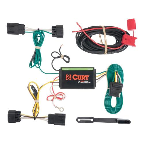 small resolution of curt custom wiring harness 4 way flat output hitch wiring harness