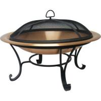 Catalina Creations 30 in. Copper Fire Pit Set-AD112 - The ...