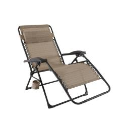 Pictures Of Chaise Lounge Chairs Light Grey Velvet Accent Chair Hampton Bay Mix And Match Oversized Zero Gravity Sling Outdoor In Cafe