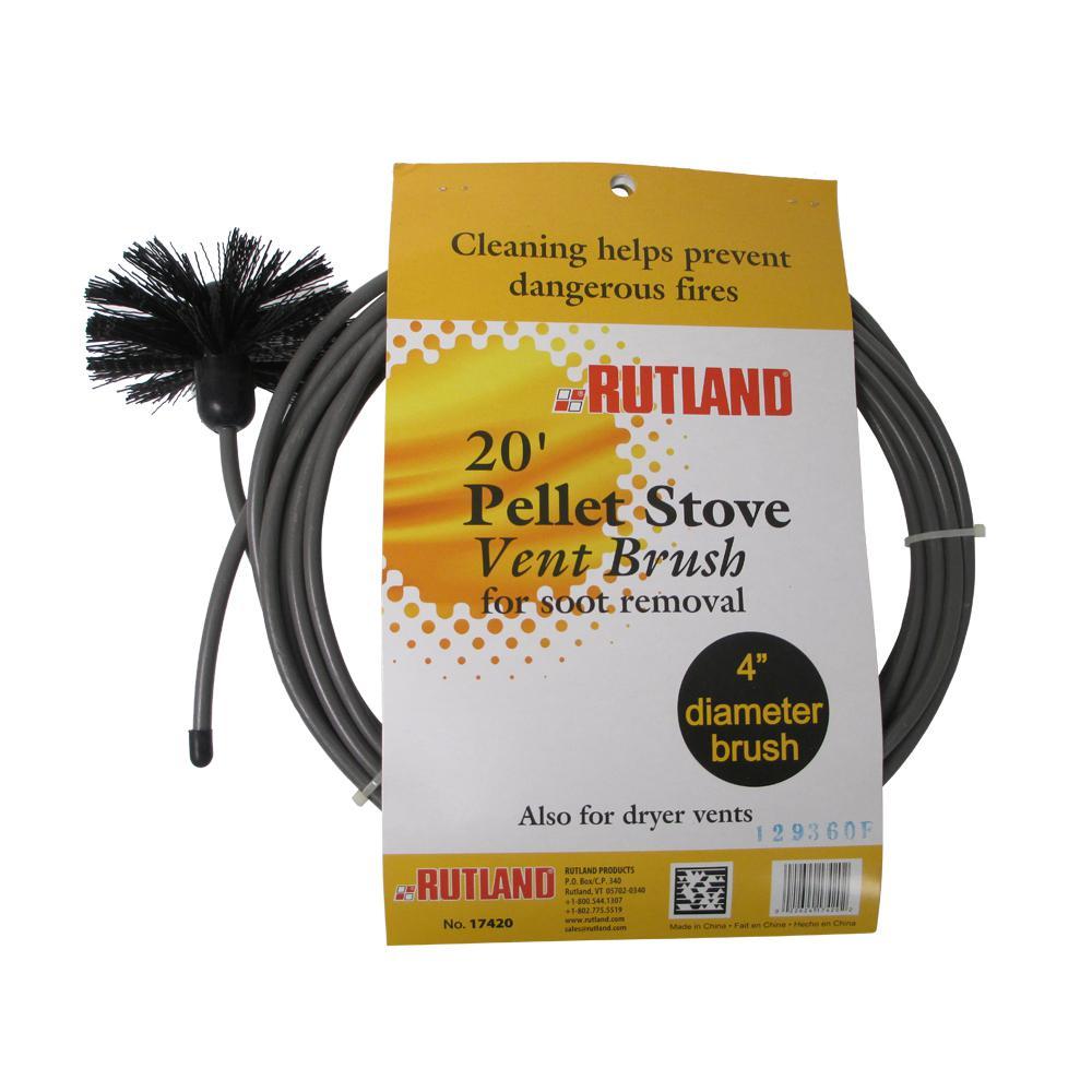 Rutland 4 in. Pellet Stove/Dryer Vent Brush