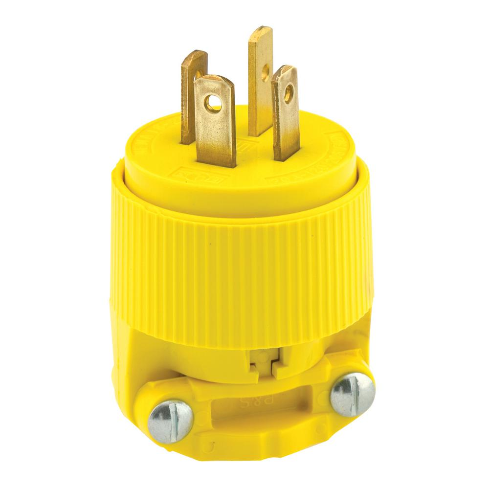 hight resolution of 20 amp 120 208 volt 3 phase straight blade non grounding plug