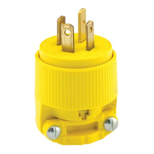 small resolution of 20 amp 120 208 volt 3 phase straight blade non grounding plug