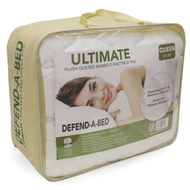 Null Ultimate Twin Xl Size Bamboo Rayon Quilted Waterproof Mattress Protector