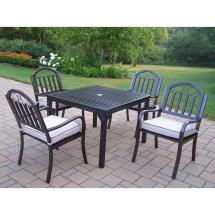Oakland Living Rochester 5-piece Patio Dining Set With