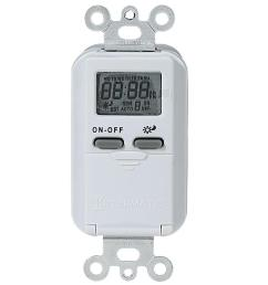 15 amp 7 day indoor astronomic digital in wall timer white [ 1000 x 1000 Pixel ]
