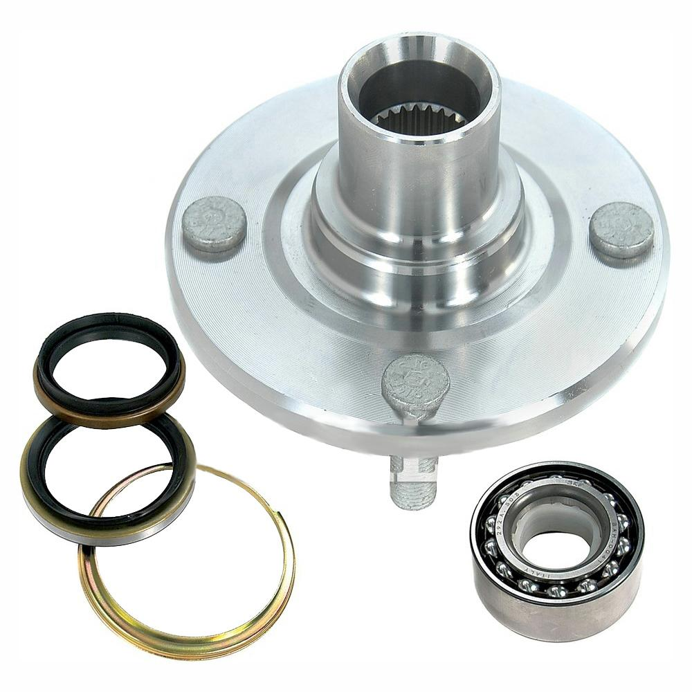 hight resolution of front wheel bearing and hub assembly fits 1988 2002 toyota corolla
