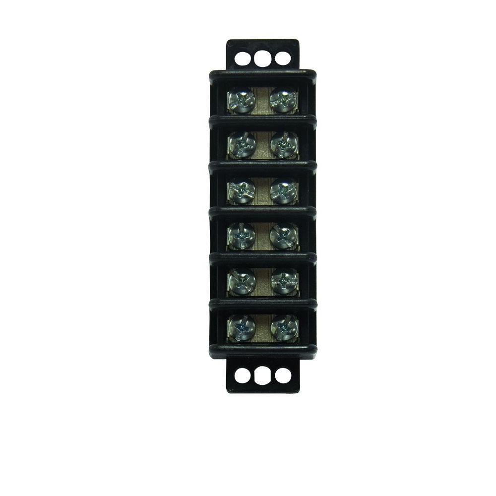 hight resolution of gardner bender 22 10 awg 6 circuit terminal block 1 pack