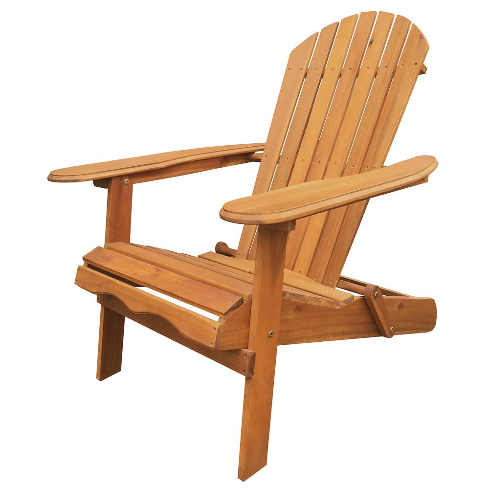 Leigh Country Natural Folding Adirondack ChairTX 36600