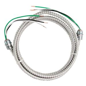 Southwire 12/2 x 12 ft. Stranded CU MC (Metal Clad