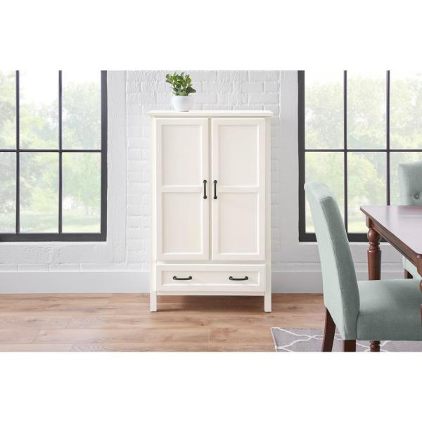 Stylewell Stylewell Ivory Wood Kitchen Pantry 30 In W X 47 In H Sk19304c1r1 V The Home Depot