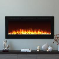 Moda Flame Cynergy 50 in. Pebble Electric Recessed Built ...