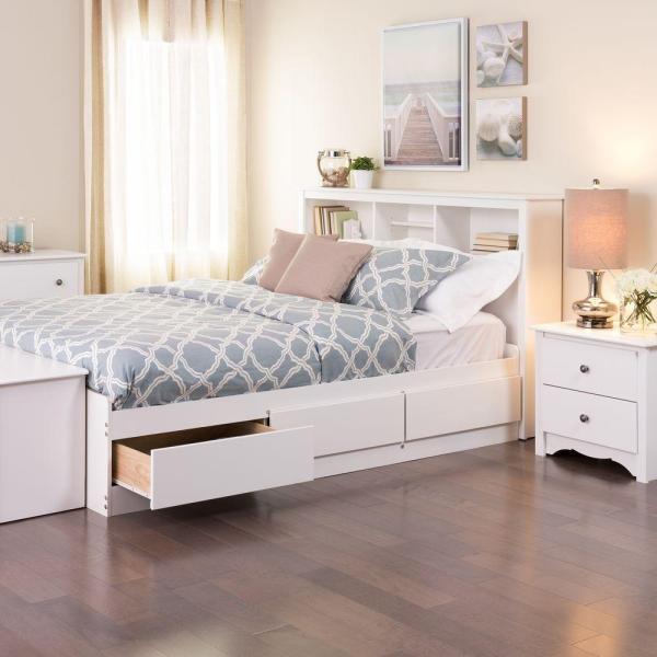 Prepac Monterey Queen Wood Storage Bed-wbq-6200-3k