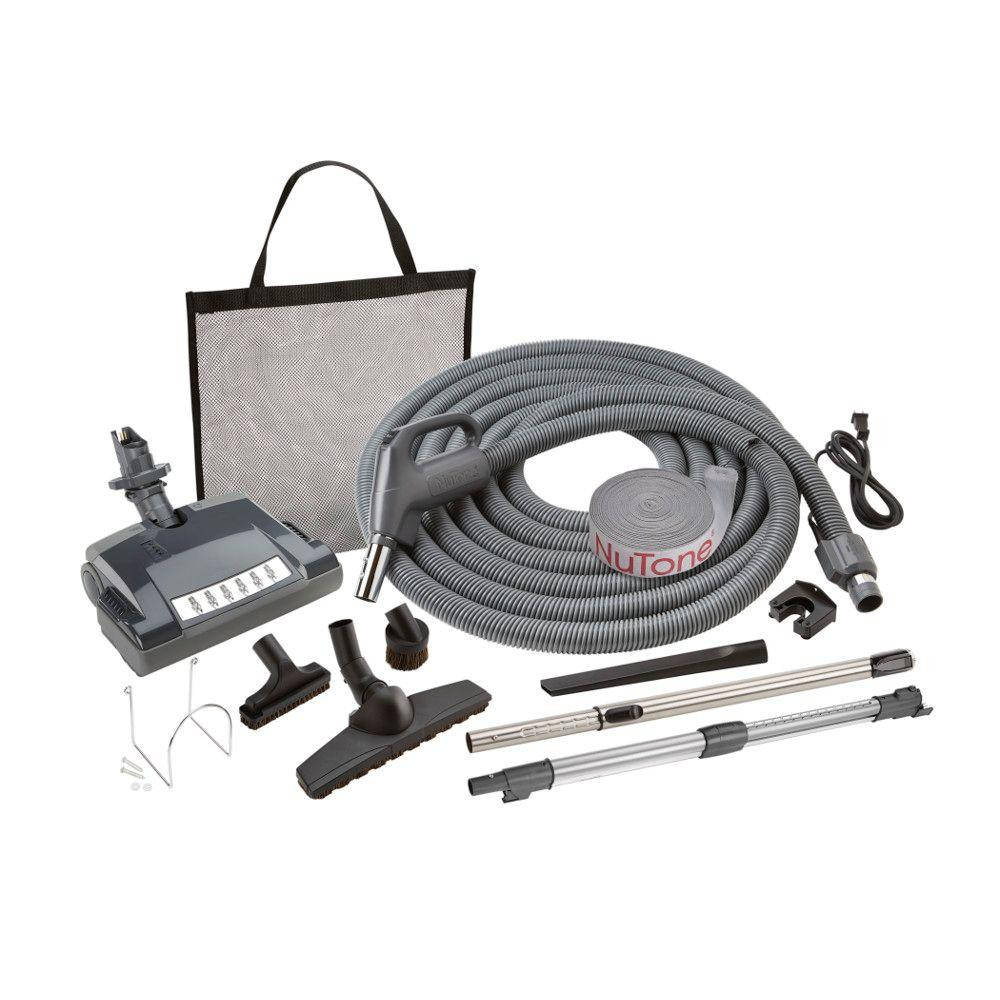 hight resolution of electric pigtail carpet and bare floor attachment set for central vacuum system