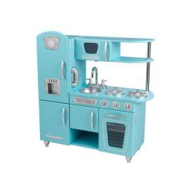Kid Craft Kitchen Island Pendant Lighting Kidkraft Blue Vintage Play Set 53227 The Home Depot