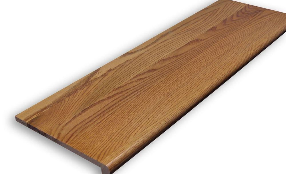 Stairtek 625 In X 11 5 In X 36 In Prefinished | Oak Stair Treads At Home Depot