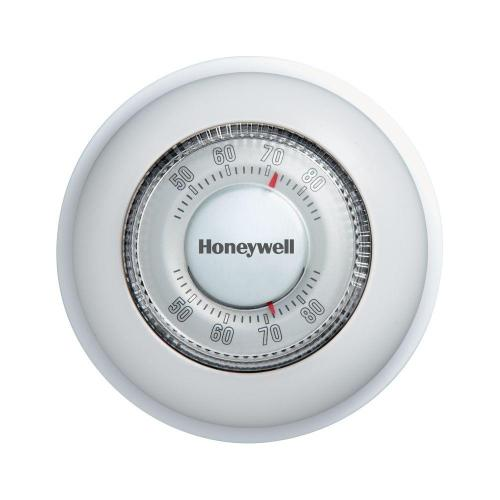 small resolution of honeywell round mechanical thermostat heat only