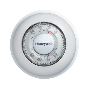 Honeywell Round Mechanical Thermostat Heat OnlyCT87K