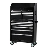 Husky 36 in. 12-Drawer Tool Chest and Cabinet Set, Black ...