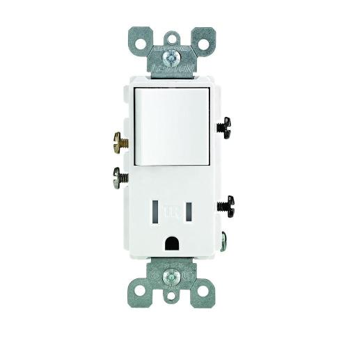 small resolution of leviton decora 15 amp tamper resistant combo switch and outlet whiteleviton switch wiring diagram