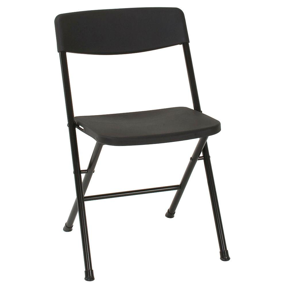 Folding Chairs At Target Cosco Black Plastic Seat Stackable Folding Chair Set Of 4