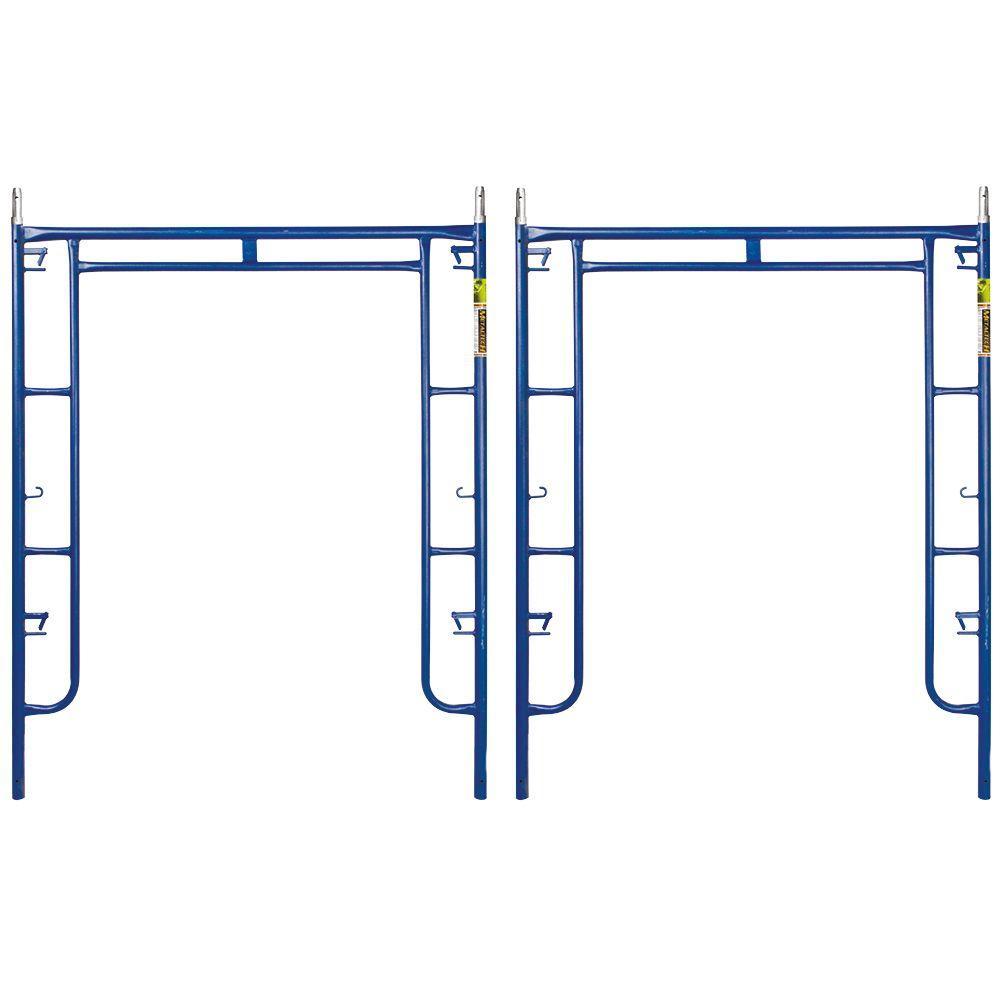 Metaltech Saferstack 6 3 Ft X 5 Ft Mason Walk Through