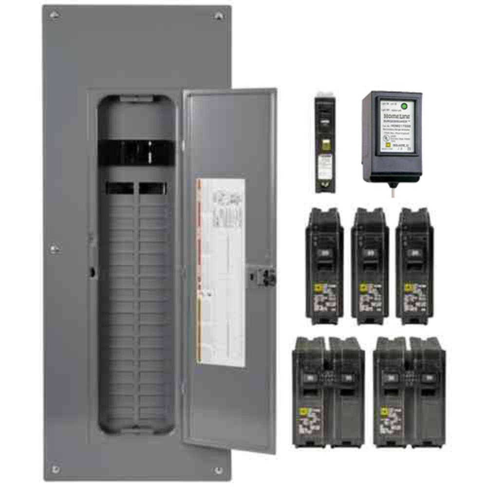 Through Panel Circuit Breaker With Protective Cover 5 Amp Breaker