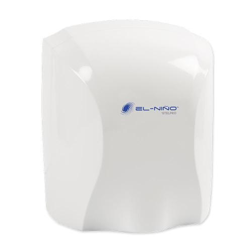 small resolution of el nino 1450 watt 120 volt white auto start electric hand dryer