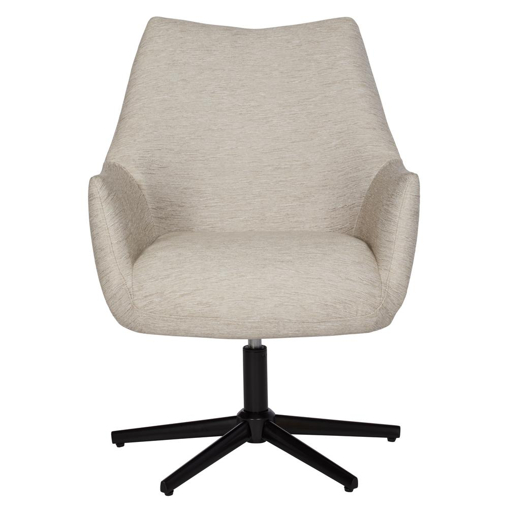 swivel arm chairs hanging chair danube handy living gunnison in oatmeal tan textured strie
