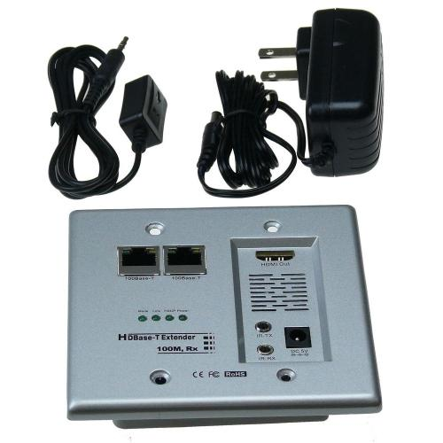 small resolution of ntw hdbase t hdmi and networking wall plate extender with cat5e 6 ready