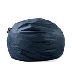 Foam Bean Bag Chair Red Dining Room Covers Big Joe King Fuf Shredded Ahhsome Cobalt Lenox 0005657
