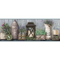 York Wallcoverings Country Keepsakes Garden Wallpaper ...