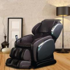 Osaki Massage Chair Dealers Computer Table Price Titan Black Faux Leather Reclining Os 3700black Brown