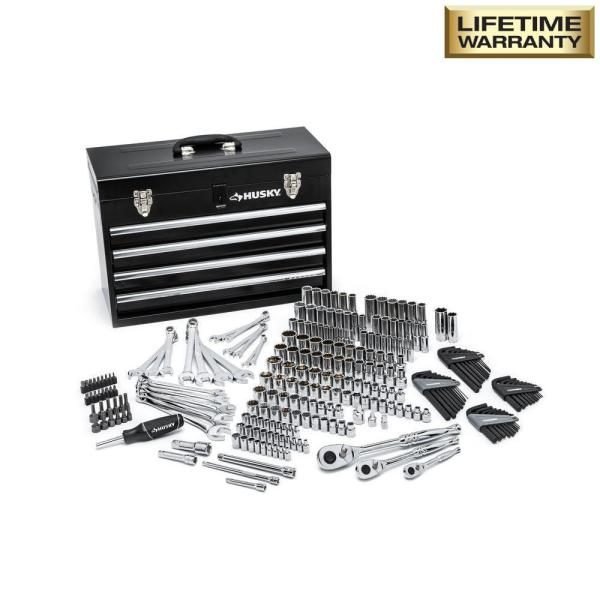 Husky 250 Piece Mechanics Tool Set