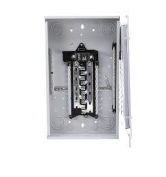 murray 100 amp 20 space 40 circuit main breaker load center [ 1000 x 1000 Pixel ]