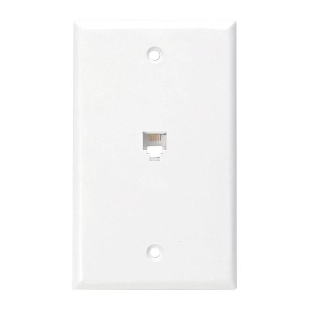 hight resolution of leviton 6p4c type 625b4 wall phone jack white